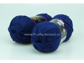 příze Seta Lux 20533 tmavě modrá