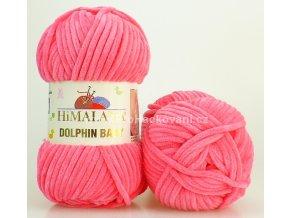 příze Dolphin Baby_80324 malinová