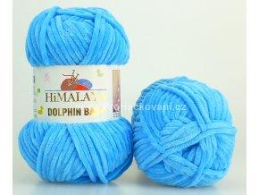 příze Dolphin Baby 80326 azurově modrá