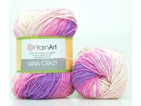 Gina Crazy 8206 růžová a fialová