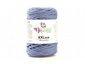 XXLace 5 modrá jeans