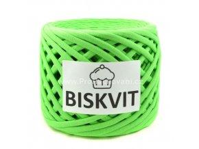 špagáty Biskvit 445 výrazná zelená