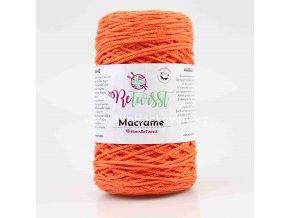 Macrame ReTwisst 26 oranžová