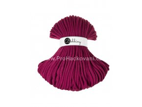 Bobbiny šňůry Jumbo purpurově fialová