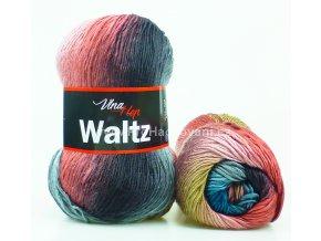 příze Waltz 5704 šedá, béžová, růžově hnědá