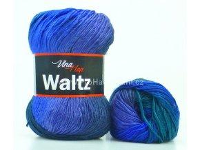 příze Waltz 5707 modrá