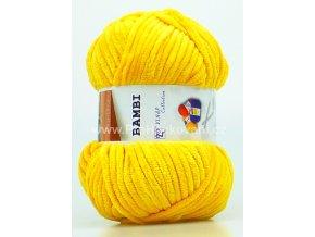 příze Bambi 88258 slunečnicově žlutá