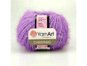příze Christmas 26 fialková