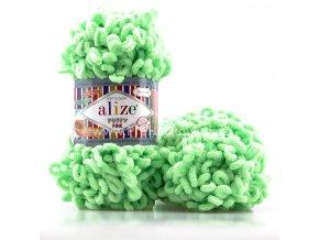 příze Puffy Fine 516 Zelená