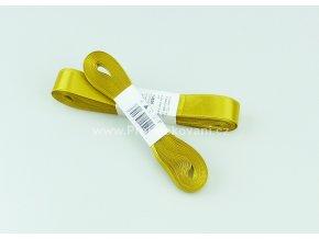 stuha atlasová 128 zlatá 10 mm