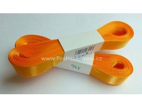 stuha atlasová 176 oranžová 20 mm
