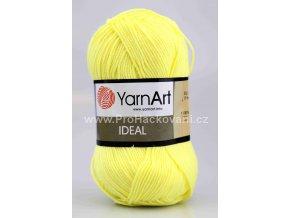 příze Ideal 224 světle žlutá