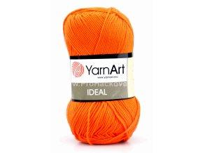 příze Ideal 242 oranžová