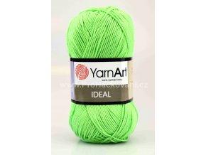 příze Ideal 226 jasně zelená