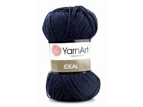 příze Ideal 241 tmavě modrá
