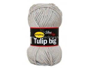příze Tulip Big 4230 světle šedá