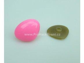 Čumáček bezpečnostní, 24 x 29 mm, růžový