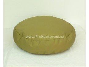 Vnitřní vak do pufu 38x10 cm hnědobéžový
