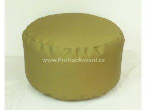 Vnitřní vak do pufu 38x20 cm hnědobéžový