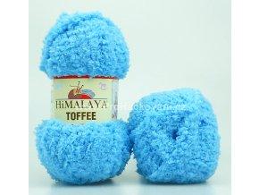 příze Toffee 73513 azurově modrá