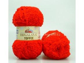 příze Toffee 73508 červená