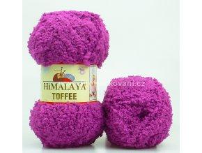 příze Toffee 73522 fuchsiově fialová