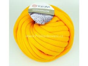 příze Marshmallow 916 žlutooranžová mandarinka