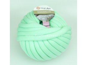 příze Marshmallow 917 mentolově zelená