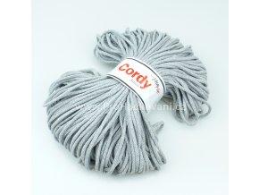 šňůry Cordy 3 mm světle šedé