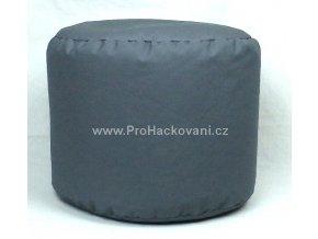 Vnitřní vak do pufu 50x40 cm tmavě šedý