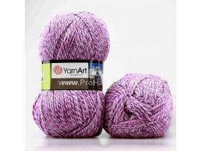 příze Everest 7023 variace fialkové