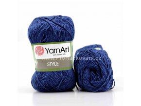 příze Style 678 tmavě modrá