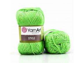 příze Style 663 světle zelená