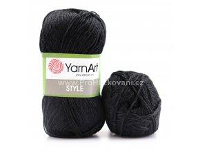 příze Style 651 černá