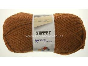 příze Yetti 53164 oříškově hnědá