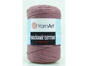 Macrame Cotton 792 starorůžová