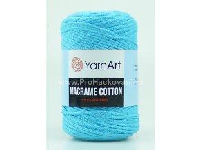 Macrame Cotton 763 světlý tyrkys