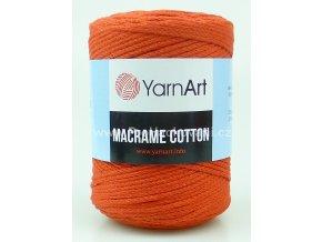 Macrame Cotton 785 cihlová