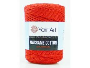 Macrame Cotton 773 červená