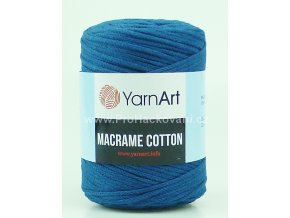 Macrame Cotton 789 petrol
