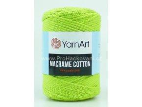 Macrame Cotton 755 světle zelená