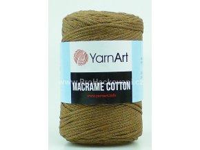 Macrame Cotton 788 hnědá