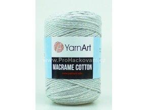 Macrame Cotton 756 světle šedá