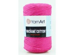 Macrame Cotton 771 fuchsiová