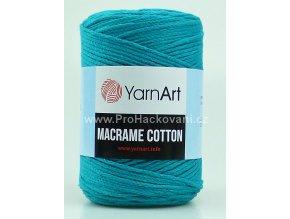 Macrame Cotton 783 mořská zeleň