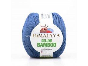 příze DeLuxe Bamboo 124-27 jeans modrá