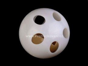 Chrastítko kulička bílá 24 mm