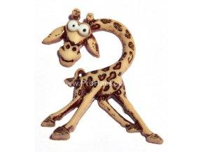 Knoflík exclusive Žirafa