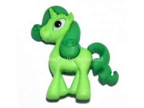 Knoflík exclusive Koník zelený