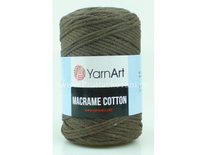 Macrame Cotton 769 hnědá